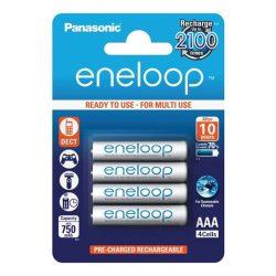 Panasonic Eneloop Akkumulátor Mikro R2U 750mAh 4 db/bliszter
