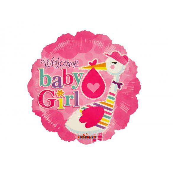 Welcome Baby Girl Fólia Lufi