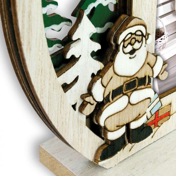 Fehér Karácsonyos Fakeret