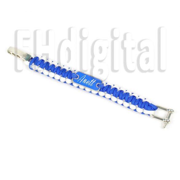 Egyedi Fonott Karkötő (kék)