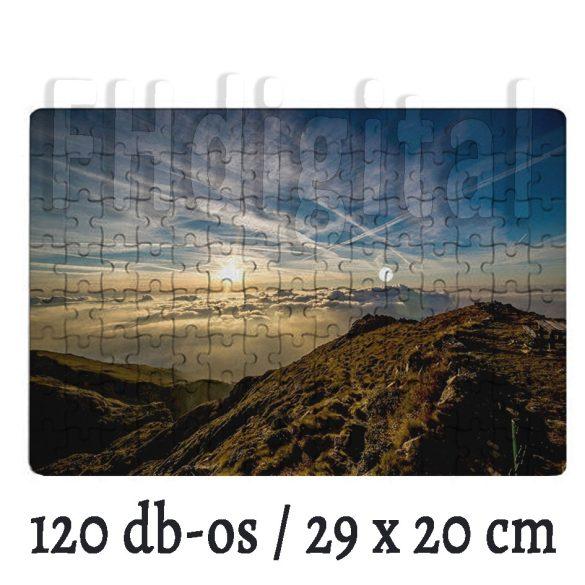 Fényképes Puzzle ( 29x20 cm)