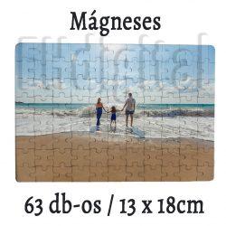Mágneses Fényképes Puzzle (13x18 cm)