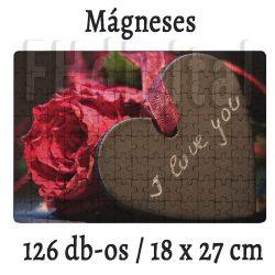 Mágneses Fényképes Puzzle (18x27 cm)