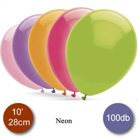 Vegyes Gömb Neon Lufi