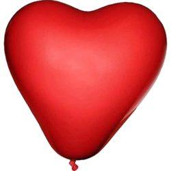 Szív alakú lufi