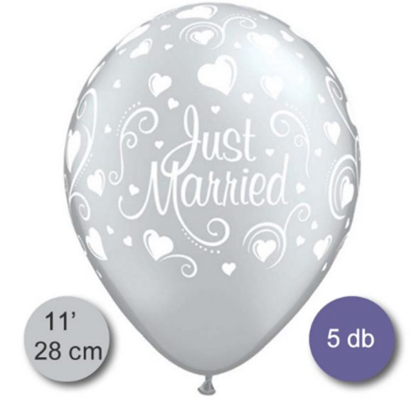 Just Married Latex Lufi