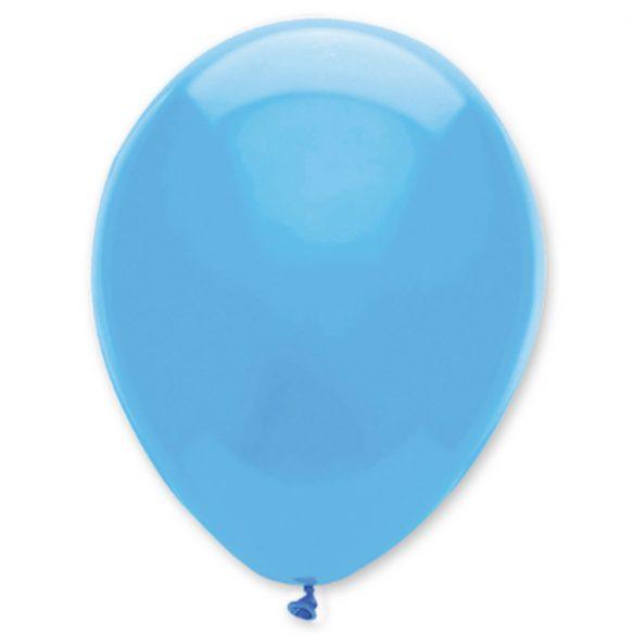 Világos kék lufi