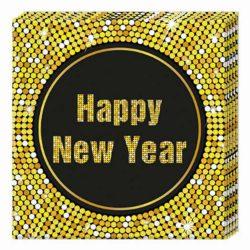 Happy New Year  szalvéta