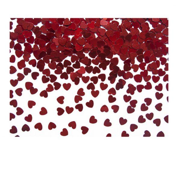 Szív alakú konfetti